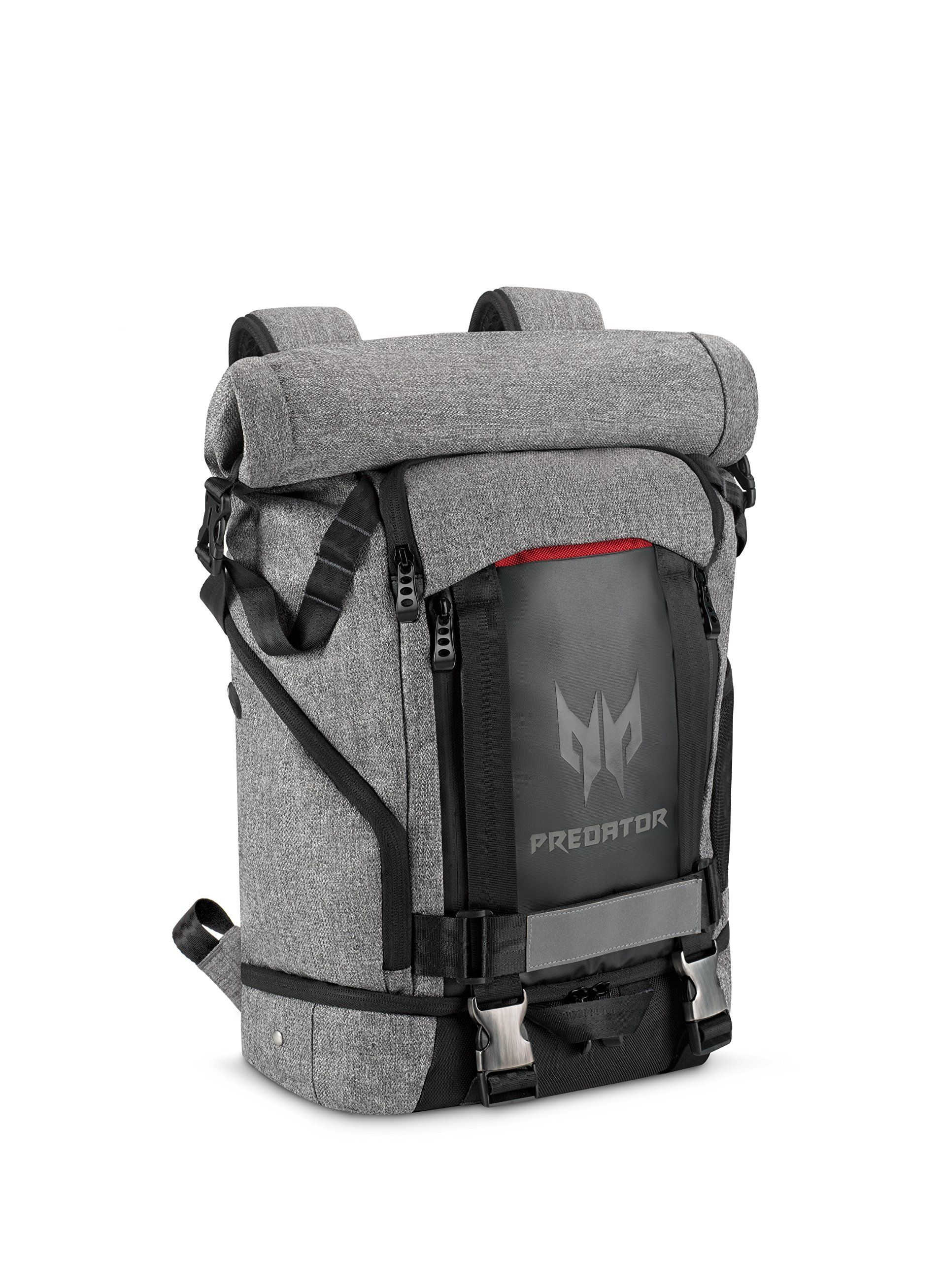 """Acer Predator Gaming Rolltop Backpack 15.6"""" for all Gaming Laptops –  Expandable space up to 35.5L capacity 88b2b89c6e0d9"""