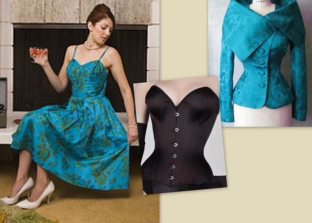 5 Ways To Wear A Corset Look Fabulous Under Vintage Clothing Styles