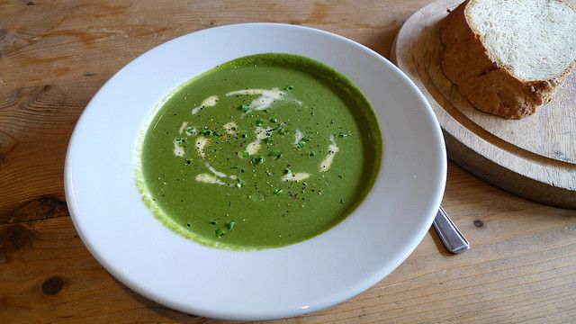 Winter Warm-Refreshing Spinach Soup