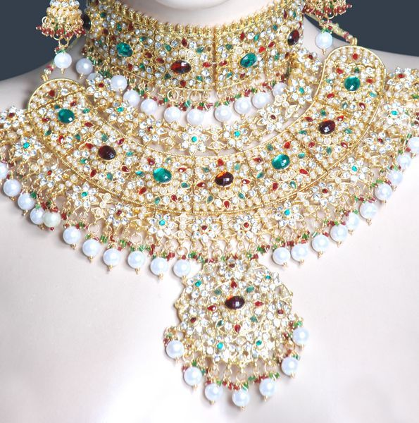 costume jewelry indian jodha akbar design wedding costume jewellery set