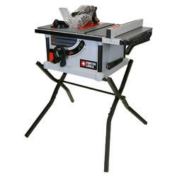 Porter Cable 15a 10 In Carbide Tipped Table Saw At Lowe S Black