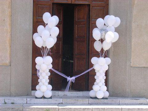 Decorazioni Matrimonio Palloncini Matrimonio Palloncini Decorazioni Con Palloncini