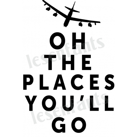 Oh The Places You Ll Go 12x18 Stencil Oh The Places You Ll Go The Places Youll Go Places