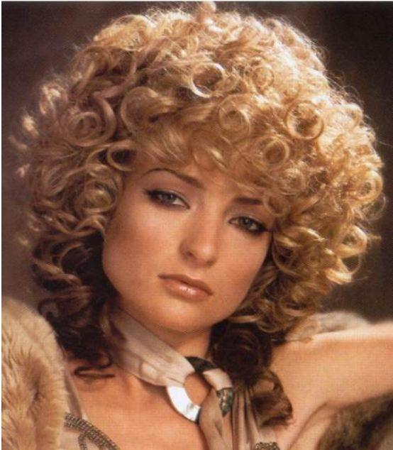 80s Hairstyle Curly Hair Styles 70s Hair Hair Styles