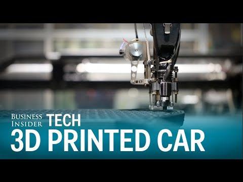 Video: Näin 3D-tulostetaan auto – sarjatuotantoon parin vuoden päästä? - Lifestyle - MTV.fi