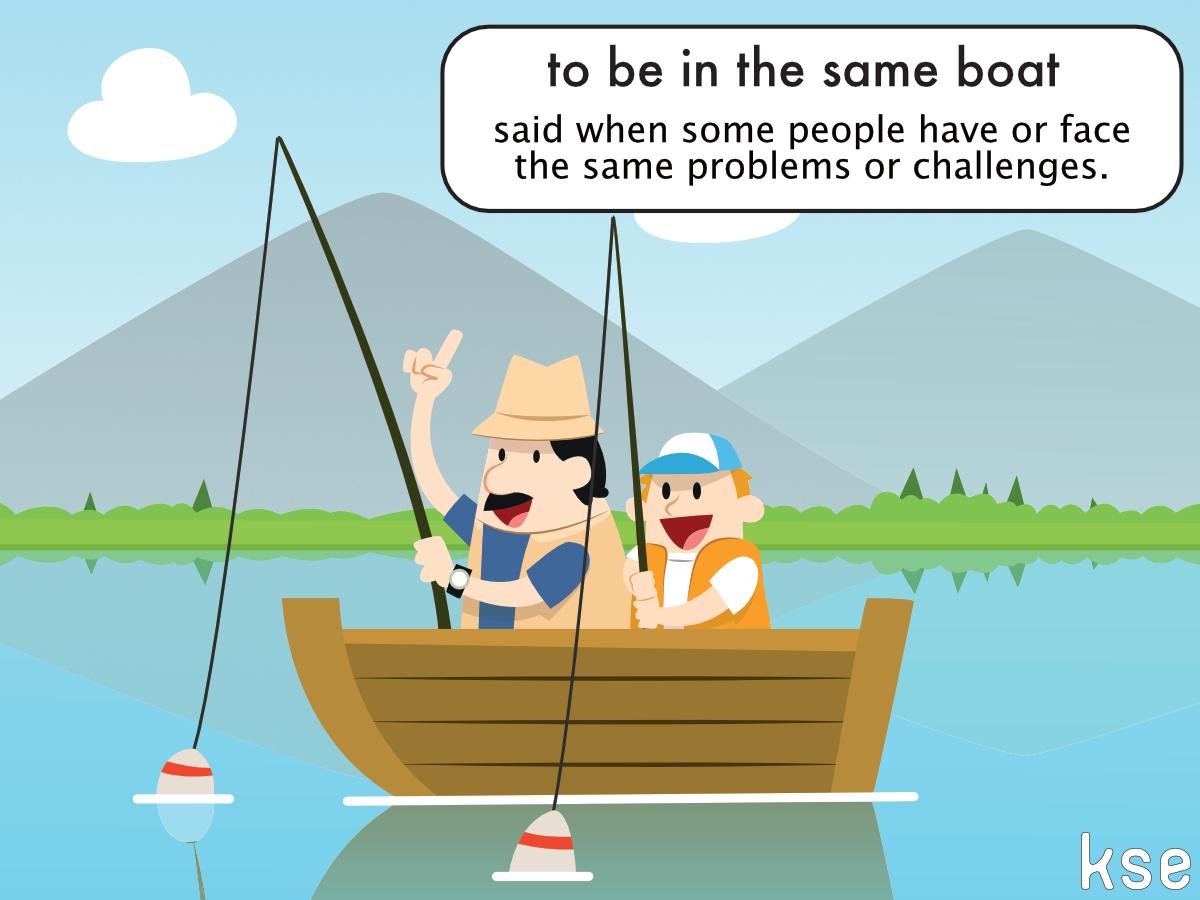 Be In The same Boat