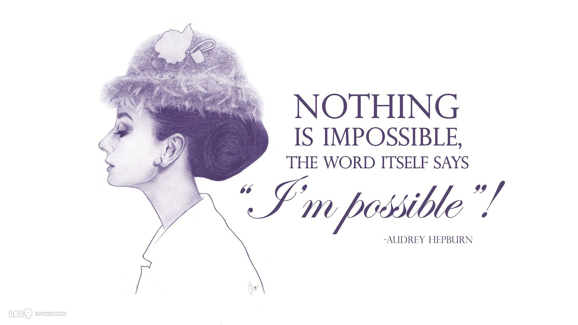Nothing Is Impossible Wallpapers And Typography Hd Backgrounds Nothing Is Impossible Wallpaper Nothing Is Impossible Typography