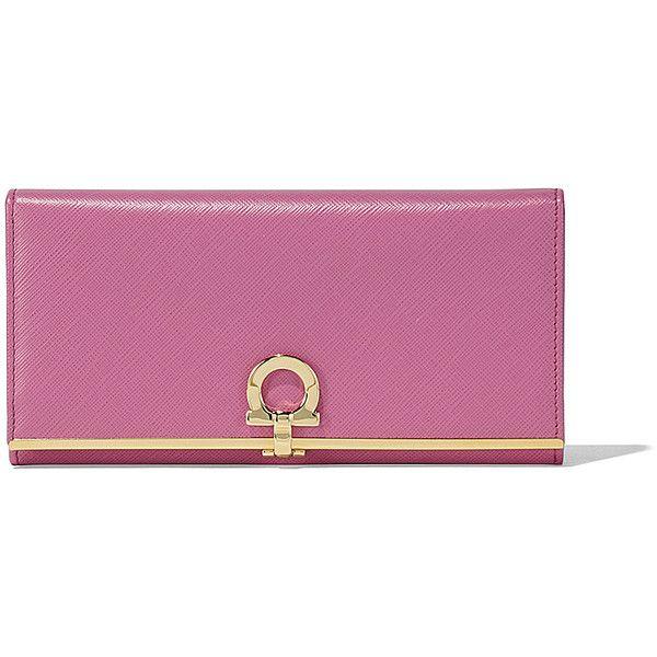 Gancio clasp wallet - Pink & Purple Salvatore Ferragamo lABxlb