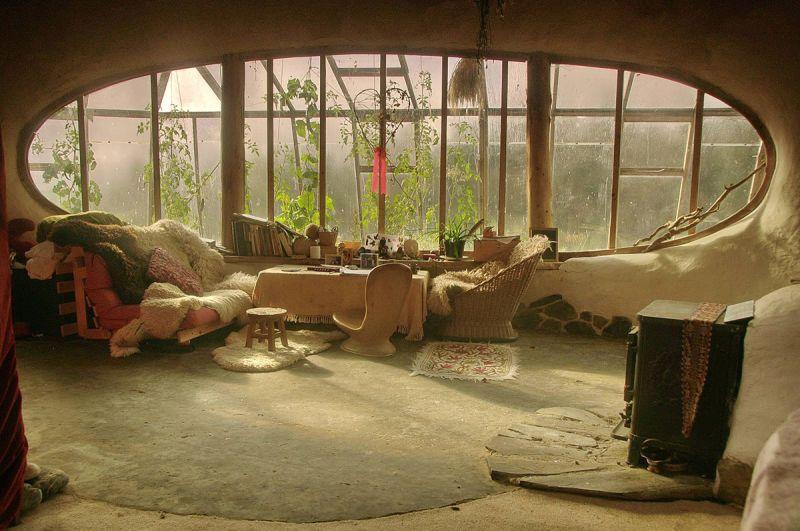 A dos metros bajo tierra el ins lito encanto de las casas - Casas enterradas ...
