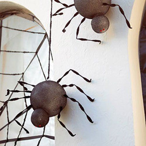 Seven simple spider crafts for Halloween decorating Halloween - halloween decorations spider