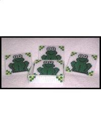 Froggy Quilt Coaster Set