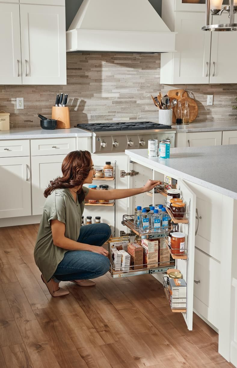 Find All Of Your Dream Remodel Tools At Diamondatlowes Com Installing Cabinets Kraftmaid Cabinets Installing Kitchen Cabinets