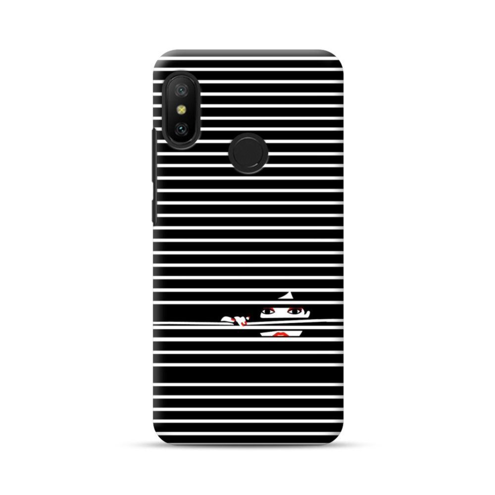 Girl Behind The Blinds Xiaomi Mi A2 Lite Case Case Cool Iphone Cases Xiaomi