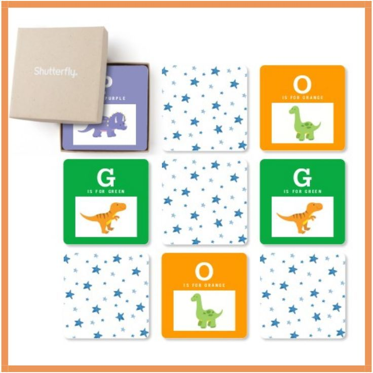 NEW @ Shutterfly: Create A Custom Matching Card Game Your