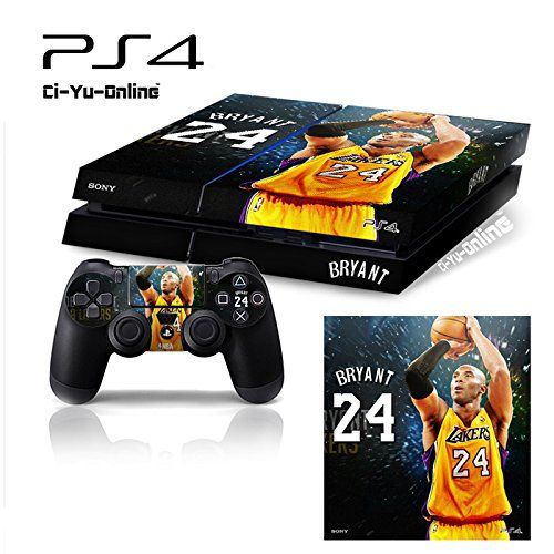 Ci Yu Online Vinyl Skin Ps4 Kobe Bryant 24 3 Whole Body Vinyl Skin Sticker Decal Cover For Ps4 Plays Kobe Bryant 24 Playstation Games Video Game Accessories