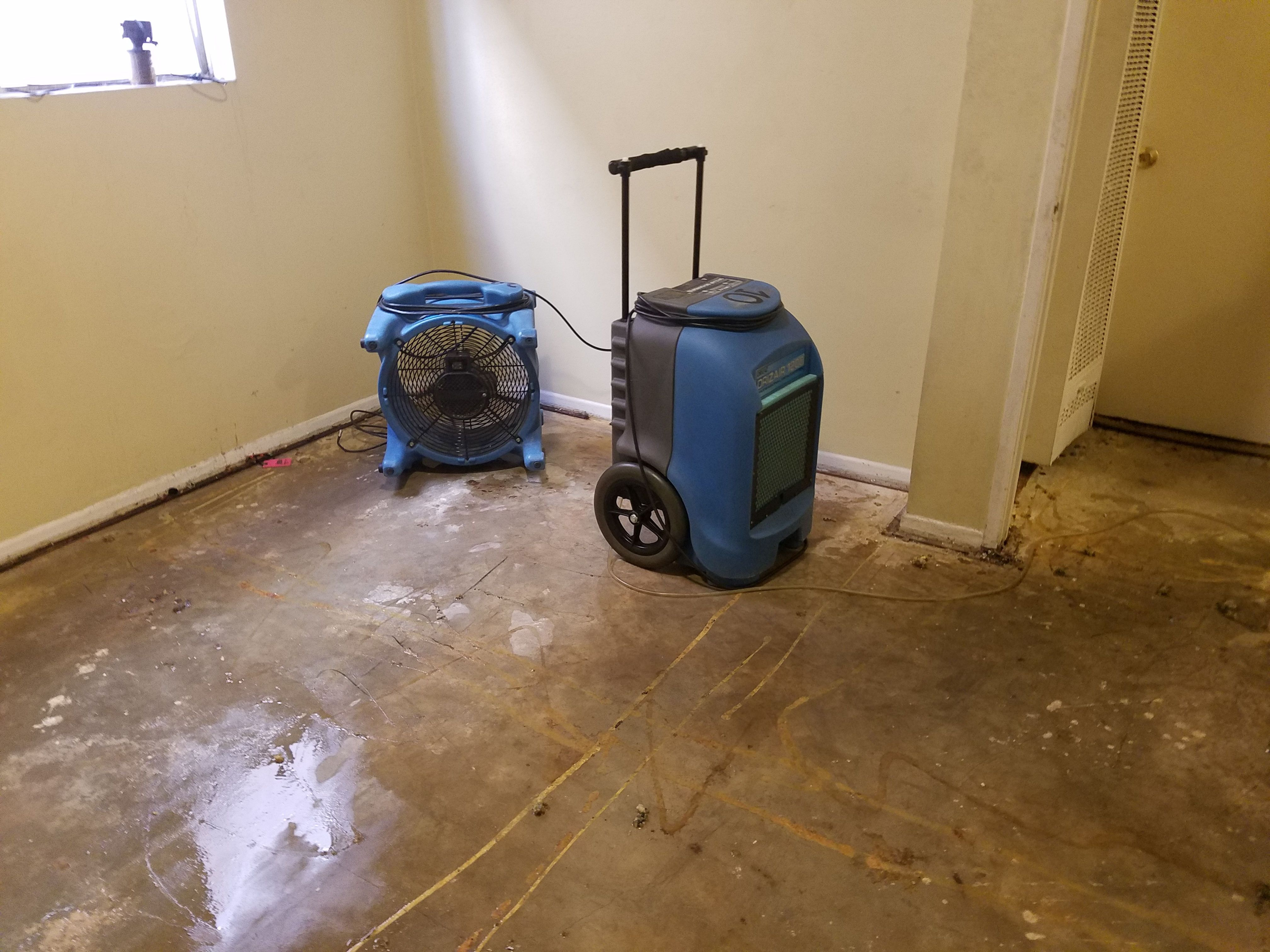 Every minute counts if you have water damage caused by a