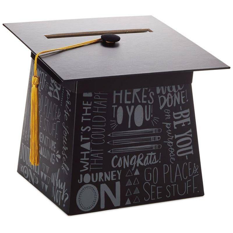 graduation cap card box  graduation party decor