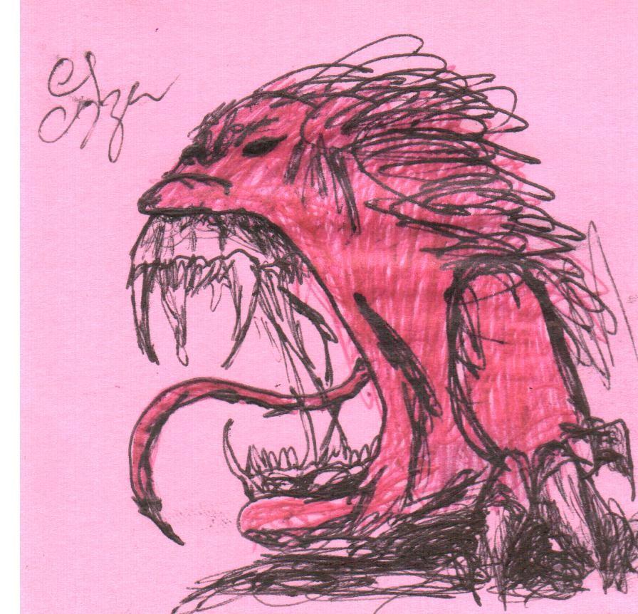 El demonio en mi,  Dibujo propio