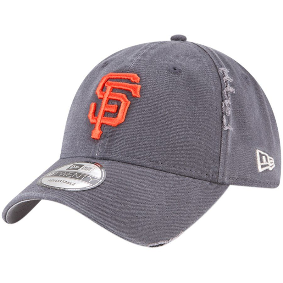 check out a2374 7ad71 Men s San Francisco Giants New Era Gray Rip Right 9TWENTY Adjustable Hat,  Your Price   23.99