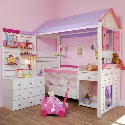 lit cabane 480 480 chambre elena pinterest lit cabane cabanes et lits. Black Bedroom Furniture Sets. Home Design Ideas