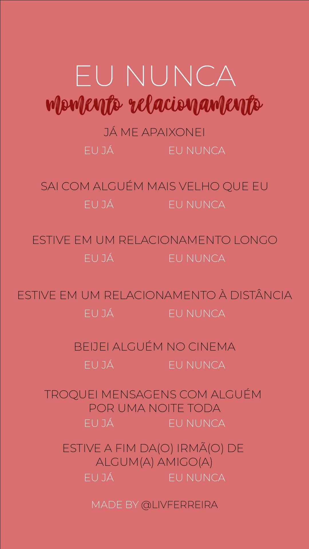 Pin De Thamara Carvalho Em Teste Perguntas Sobre Namorado Perguntas Para Casais Perguntas Para Brincadeiras