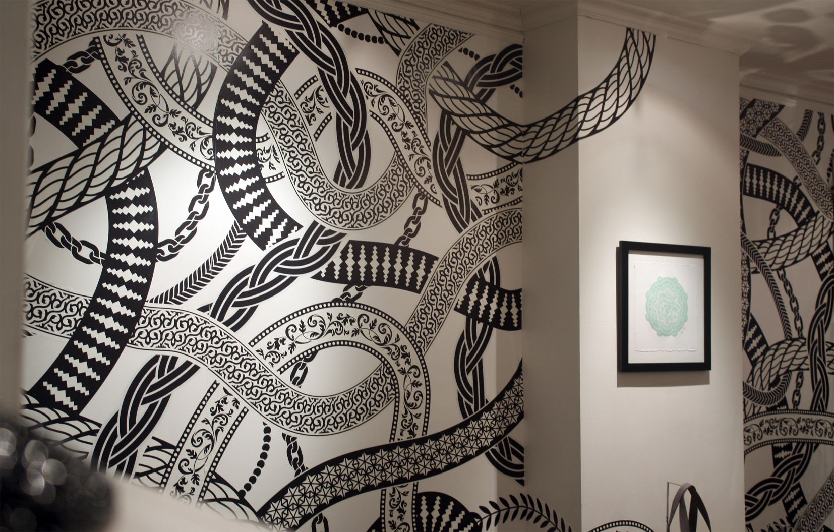 Snake Wall Wall, Texture design, Illustration art