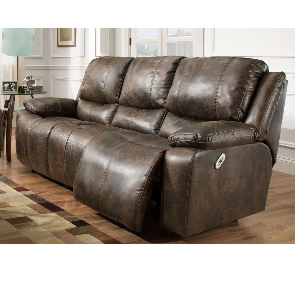 Fine Power Reclining Sofa With Power Backrest From Franklin Caraccident5 Cool Chair Designs And Ideas Caraccident5Info