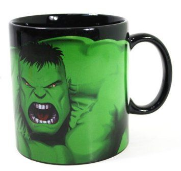 Incredible Hulk Coffee Mug Custom Photo Text Name Printed Gift Ceramic Cup