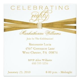 Awesome FREE Template Wording For 80th Birthday Invitation Hobbies
