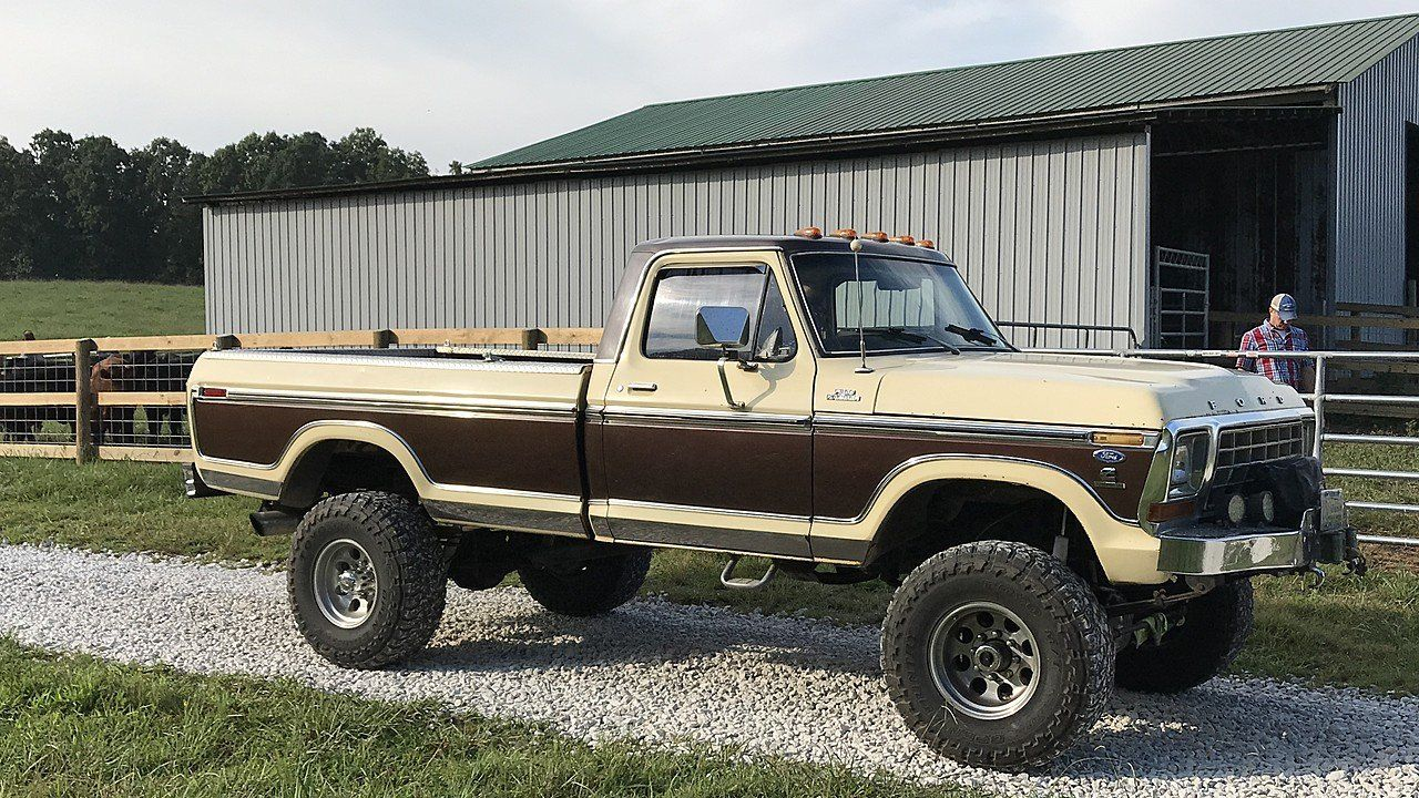 1979 Ford F250 4x4 Regular Cab For Sale Near Lynnville Tennessee