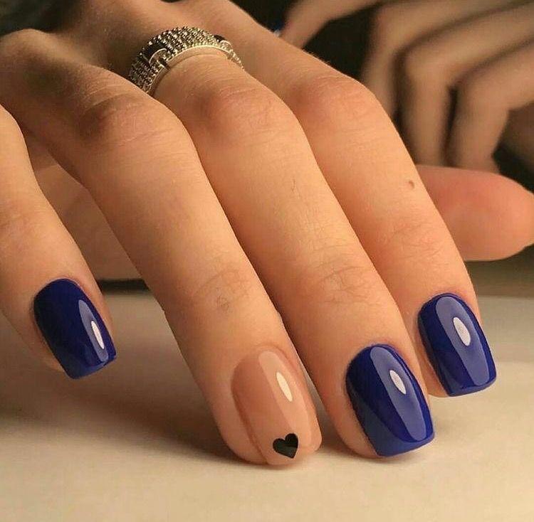 Cute Simple Mani Nail Design Trendy Nails Nails Pretty Nails