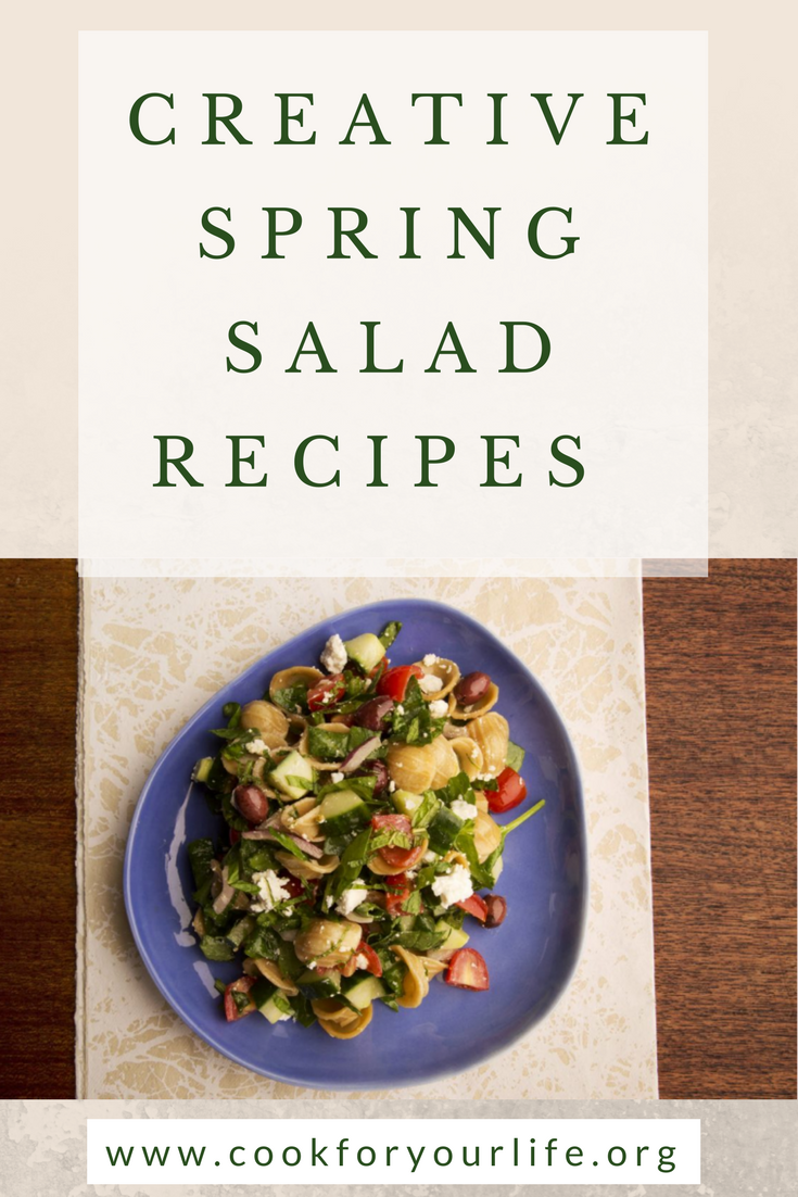 Recipes of Spring Salads in the Season of Vitamin Fairy