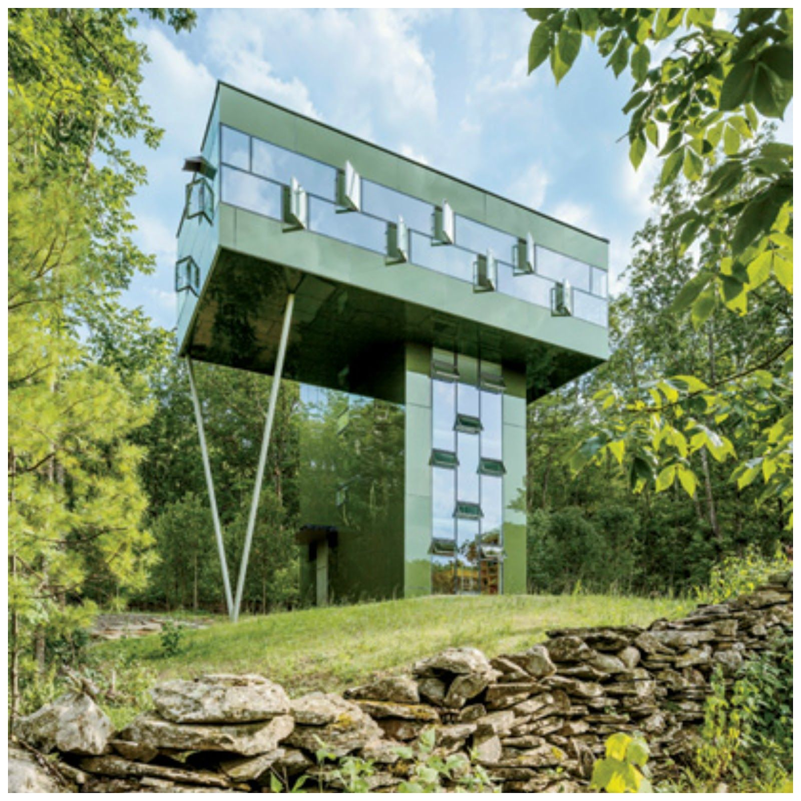 Superior Find This Pin And More On Le Terrain, Au Coeur De Lu0027architecture... By  Terrainca. Tower House ...