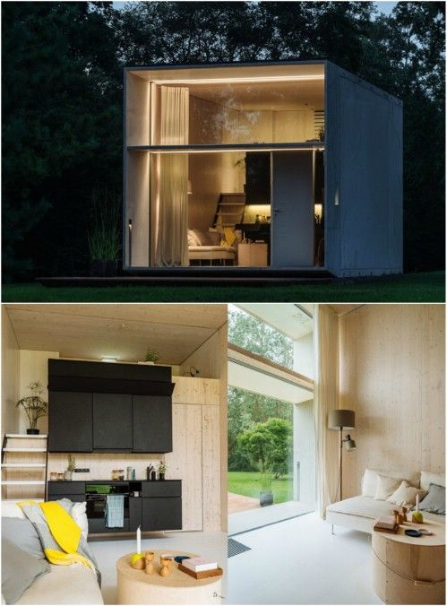 Koda The Movable Concrete Tiny House In 2019 Minimalist