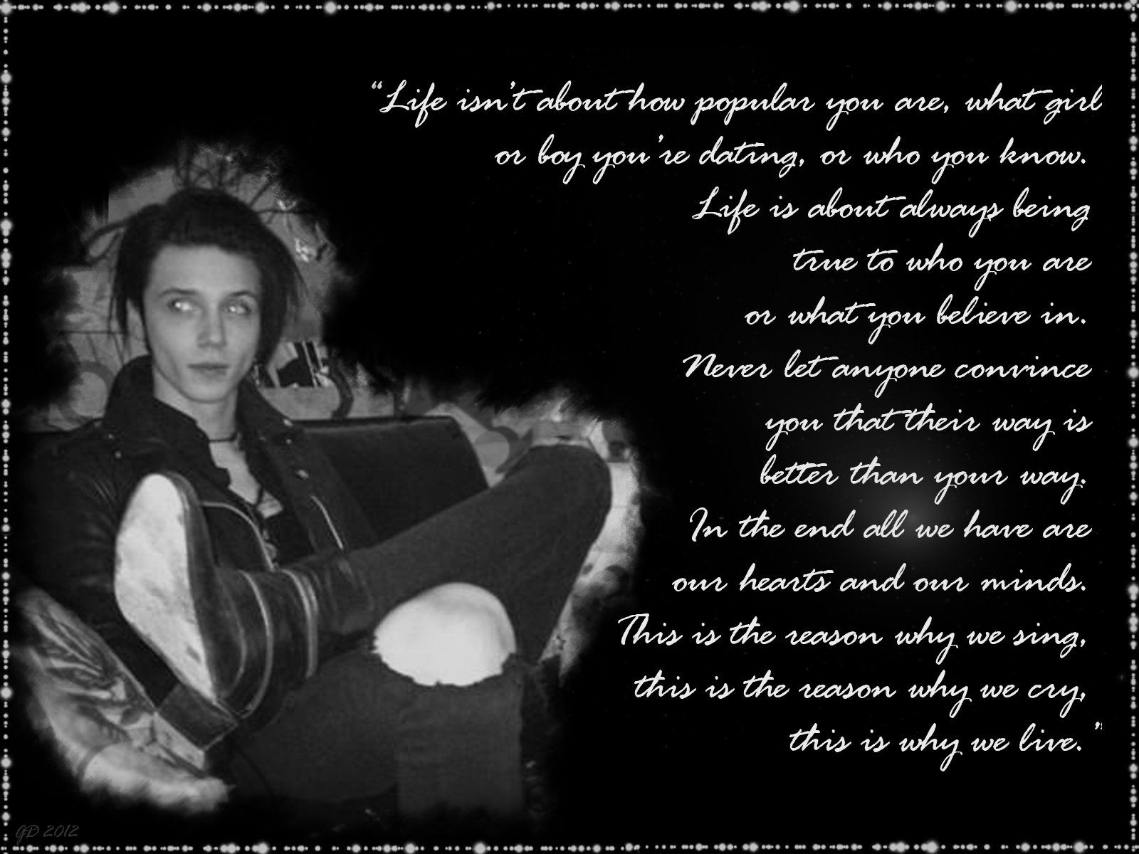 andy biersack quotes - HD1032×774