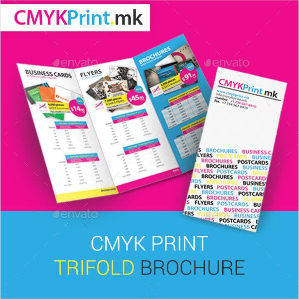 100 Best Trifold Brochure Template Designs Latest Pinterest