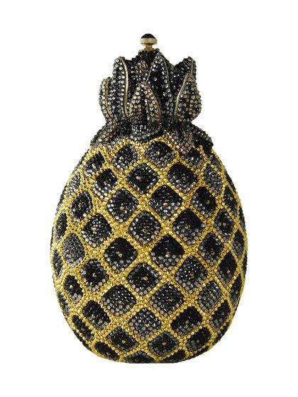 Judith Leiber Hilo Pineapple Crystal Clutch Bag krhQ1AR