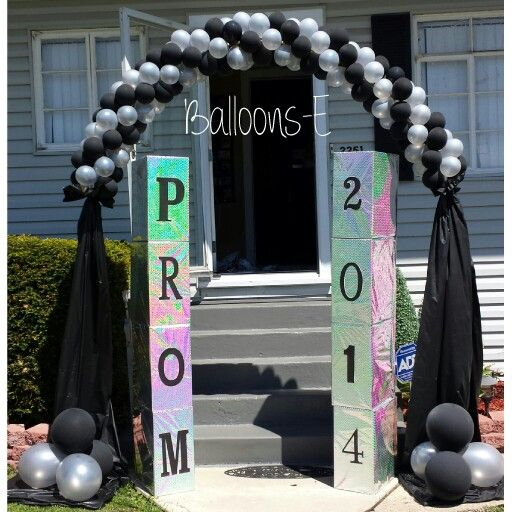 Prom Ideas Balloons For Prom In 2019 Prom Balloons