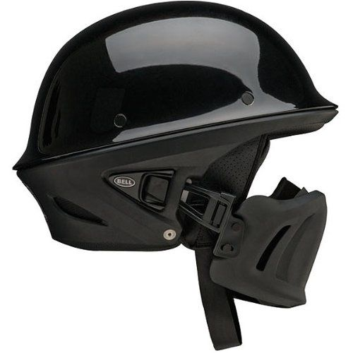 Bell Rogue Open Face Harley Cruiser Motorcycle Helmet Black