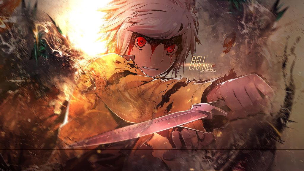 Danmachi Bell Wallpaper By Redeye27 On Deviantart Anime Les