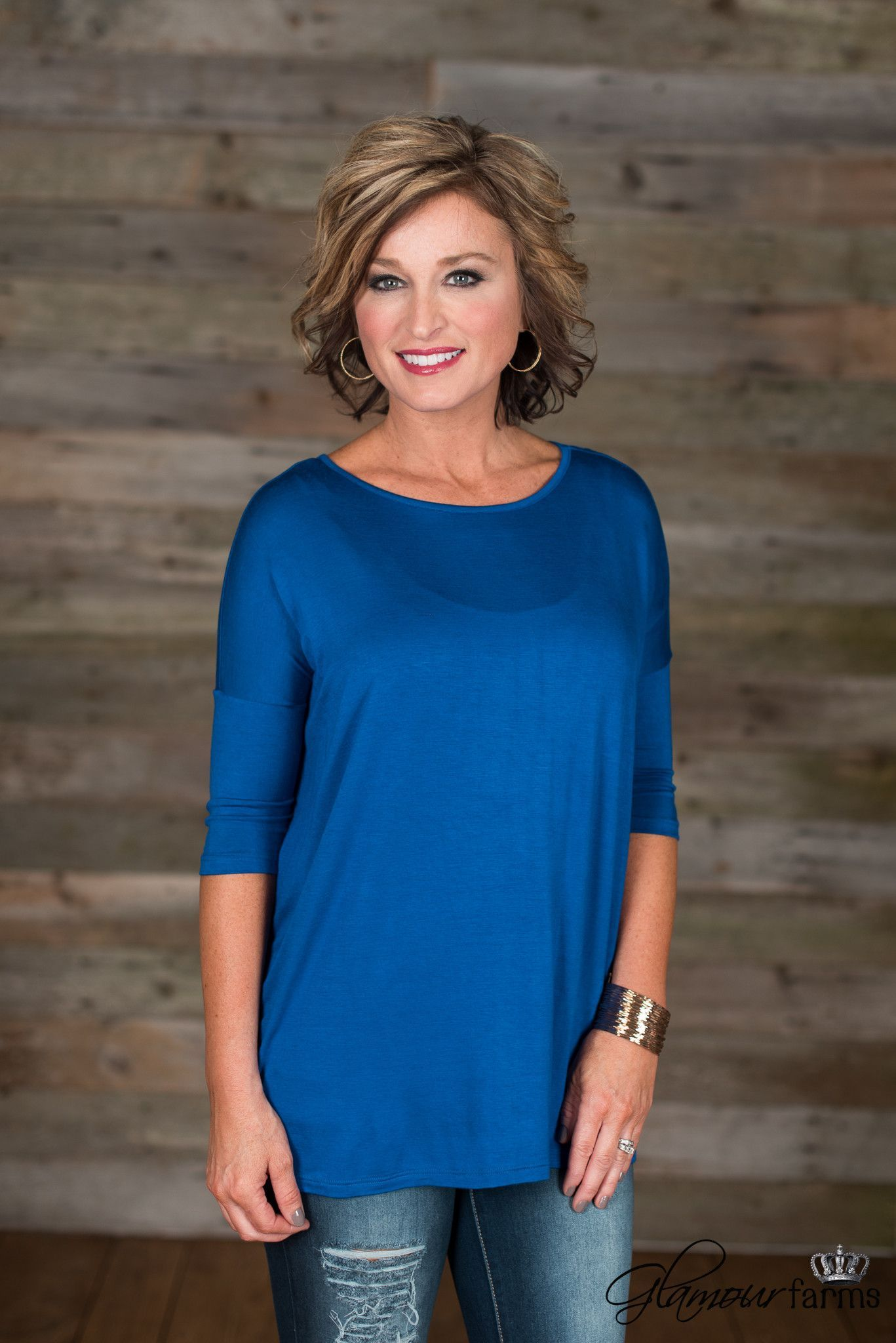 The Adele Piko - Royal Blue
