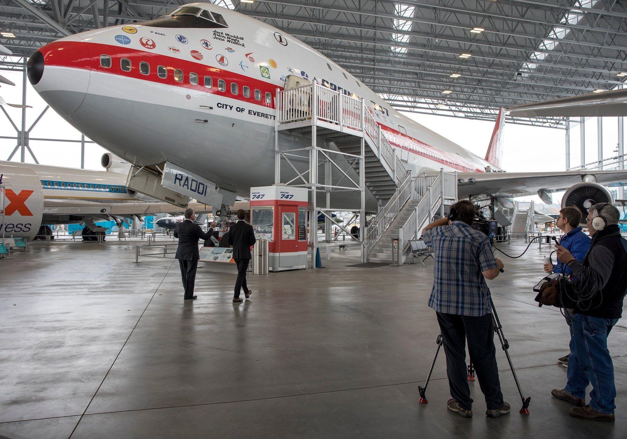 Boeing 747 prototype], Seattle's Museum of Flight | Boeing aircraft, Boeing  747, Boeing