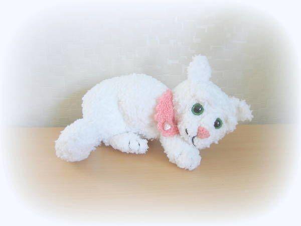 Strickanleitung Katze, liegend, Kätzchen, ca. 30 cm   Amigurumi ...