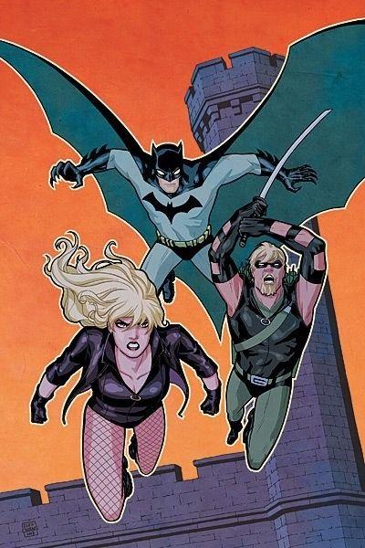 Batman, Black Canary & Green Arrow by Cliff Chaing.