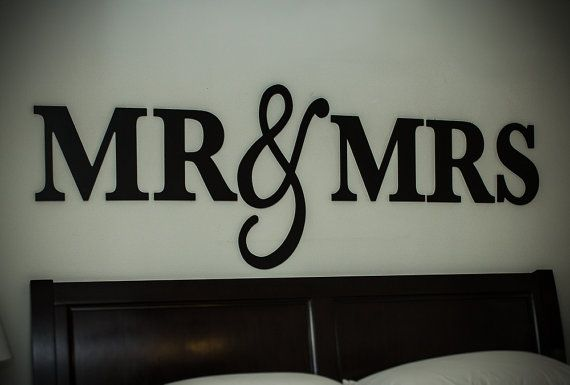 Mr Mrs Wall Sign For Bedroom Decor And Over Rhpinterest: Mr And Mrs Sign Wall Decor Bedroom At Home Improvement Advice