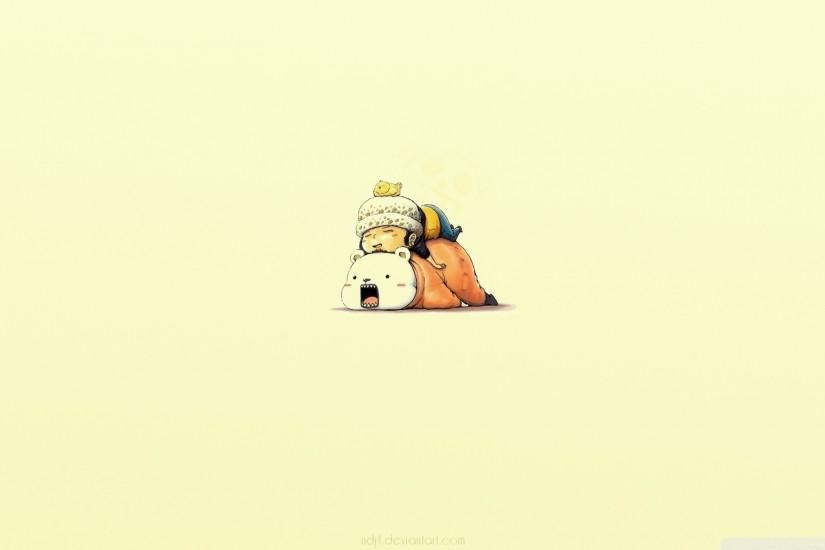 Funny One Piece Anime Simple Background Trafalgar Law Wallpaper Cute Simple Wallpapers Trafalgar Law Wallpapers Cute Wallpapers