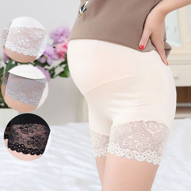 77d40f03446 Pregnant Women Panties Belly Support Shorts Soft Underpants Maternity  Underwear