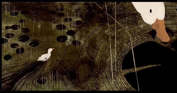 illustration+letterpress: Jon Klassen {illo inspiration}