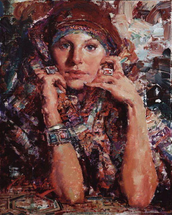 Pin By Bernice Frederick On Virtual Art Academy Student Paintings I Like Portrait Painting Beautiful Paintings The Artist Magazine