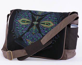 025d606433a2 Canvas Messenger Bag, Laptop Messenger Bag, 13 inch, 15 inch, Laptop ...